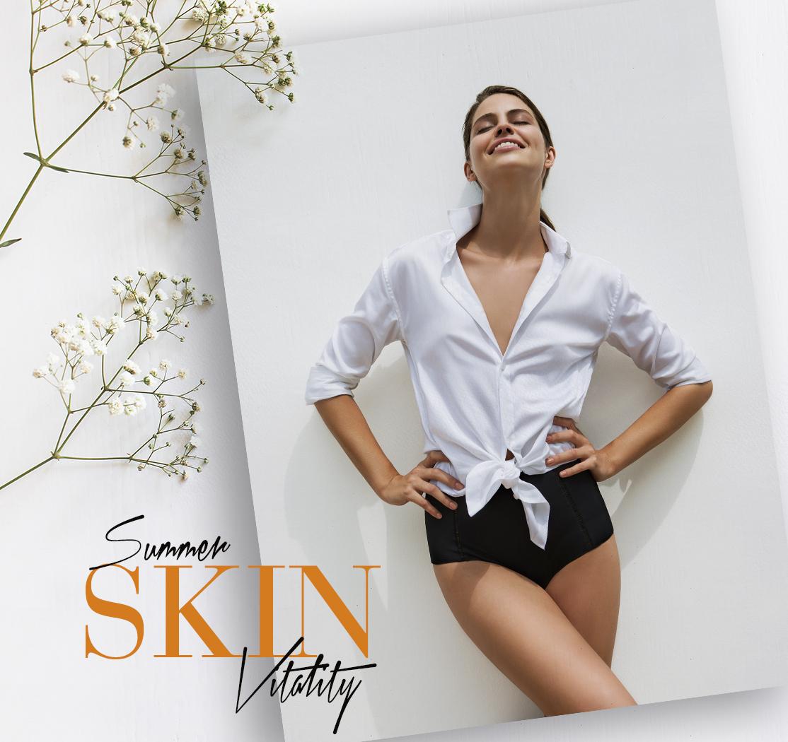 Eva Pellejero, Summer Skin vitality, Natura Bisse