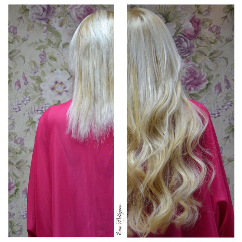 Extensiones para recuperar una melena infinita, en Eva Pellejero arreglamos un cabello mal tratado, salón de belleza, peluquería en Zaragoza