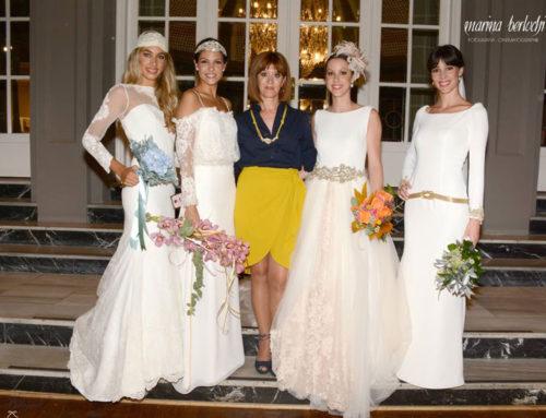 Vestidos de boda para el 2016: El desfile de Franc Sarabia con Eva Pellejero