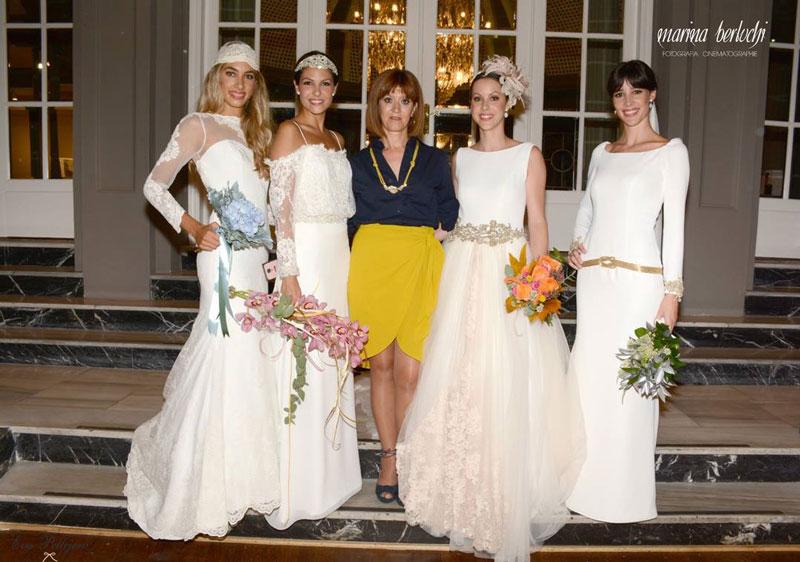 Vestidos de boda, Desfile Franc Sarabia 2016, maquillaje y peluquería Eva Pellejero, Salón de belleza Zaragoza