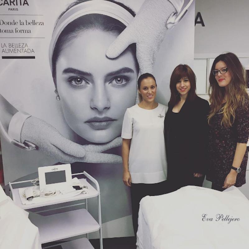 Tratamientos corporales reductores reafirmantes drenantes Carita, en Eva Pellejero Beauty Salon, Zaragoza