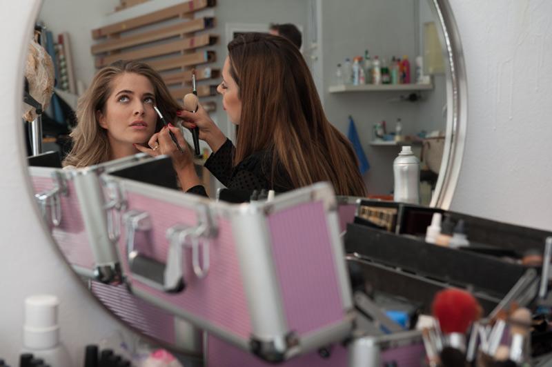 Making-of Tarín Joyeros 2016 2017, peluqueria, maquillaje, salon de belleza zaragoza