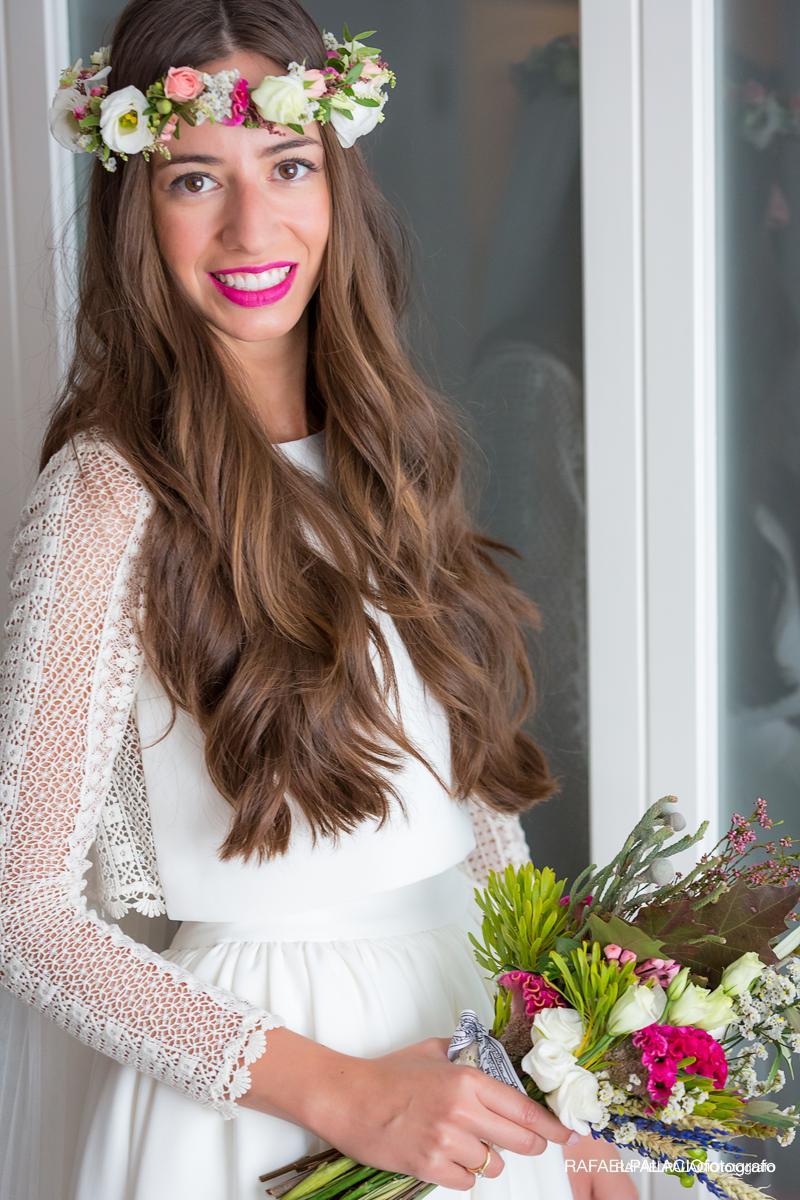 maquillaje de novia con color, Eva Pellejero