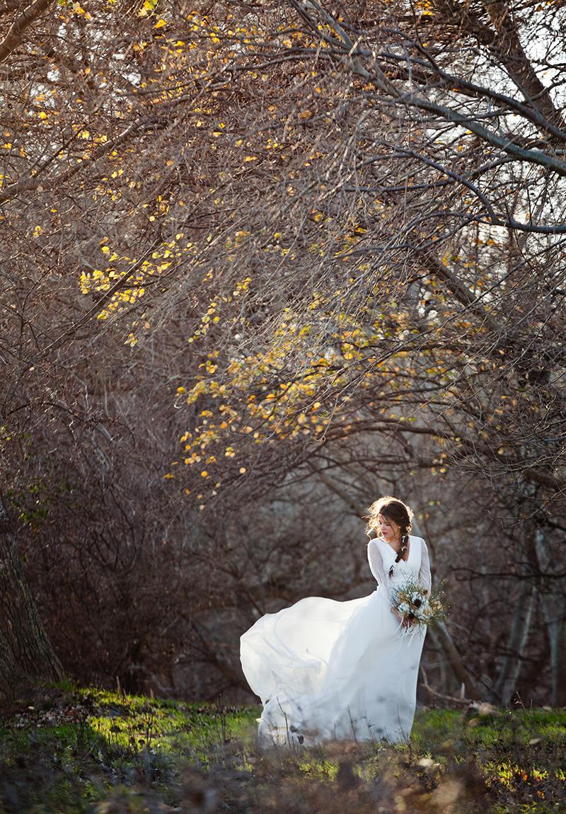 novia en invierno Eva Pellejero Neima Pidal