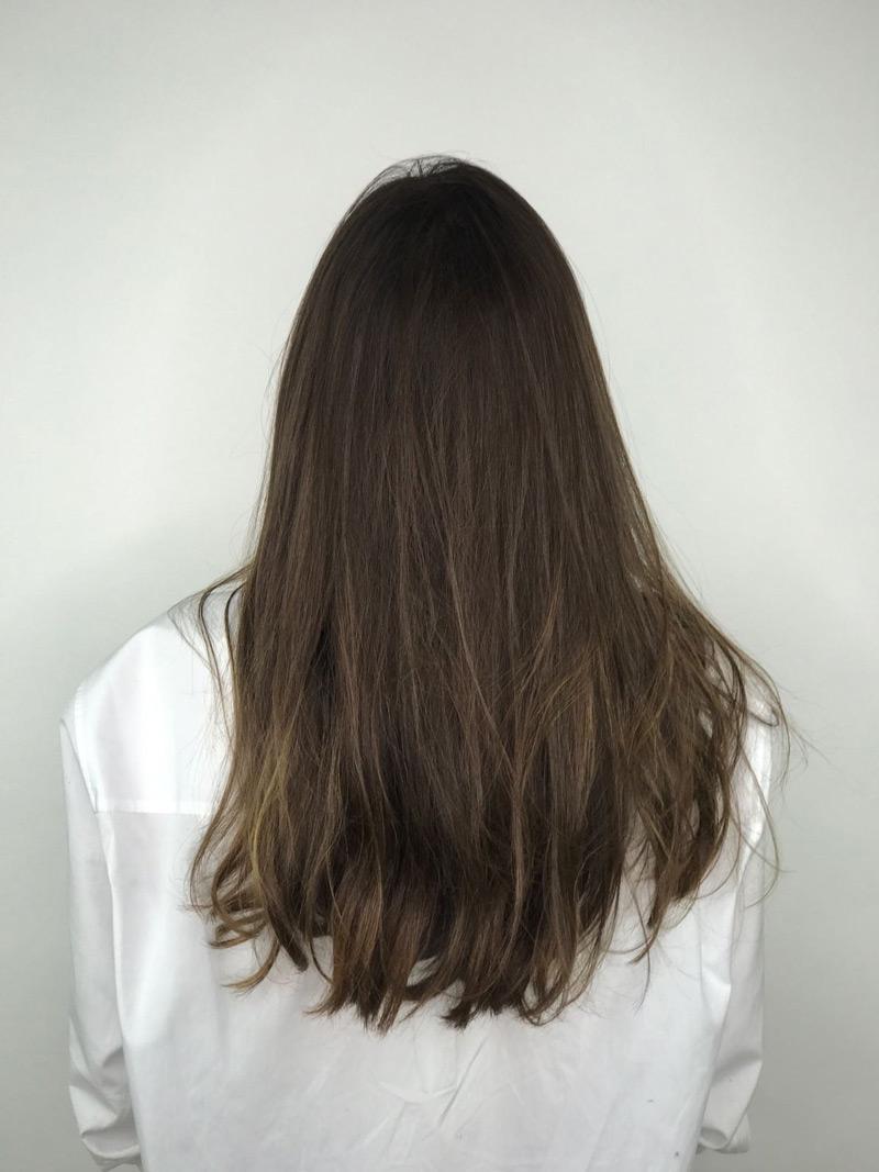 color de pelo teresa sanz cambio de look en Eva Pellejero