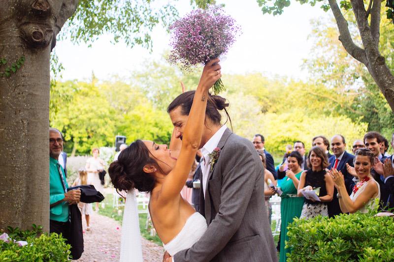 Recogido de novia natural para una boda de verano eva - Recogido de novia ...