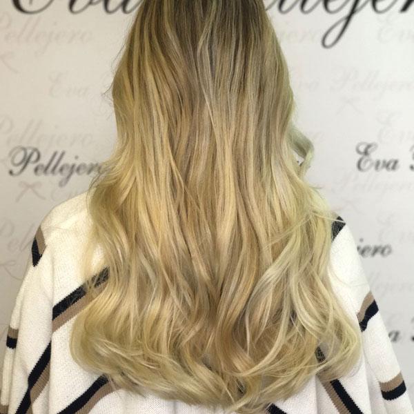 cambio de color eva pellejero peluqueria zaragoza