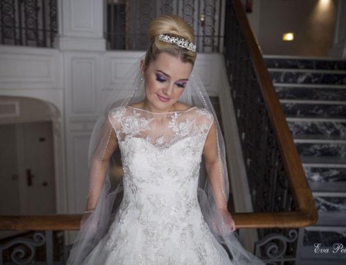 Tiara para una novia princesa