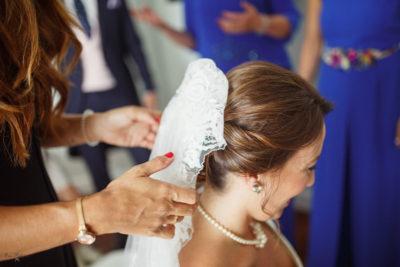 novia princesa con velo, Eva Pellejero expertos en novias