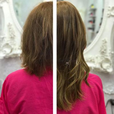 alargar el cabello corto con extensiones zaragoza eva pellejero