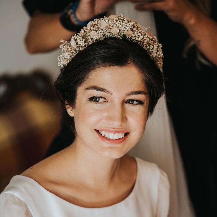Novia princesa Eva Pellejero