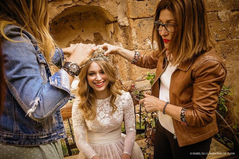 wedding editorial de reinas y princesas eva pellejero