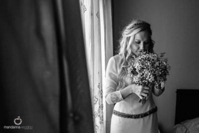 novia rubia melena pilar eva pellejero