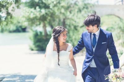 peinado de novia informal juvenil trenza eva pellejero peluqueria