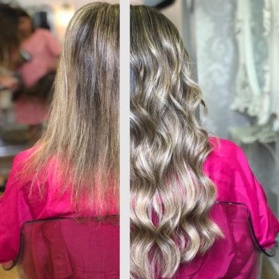 extensiones con ultrasonido alargar cabello eva pellejero