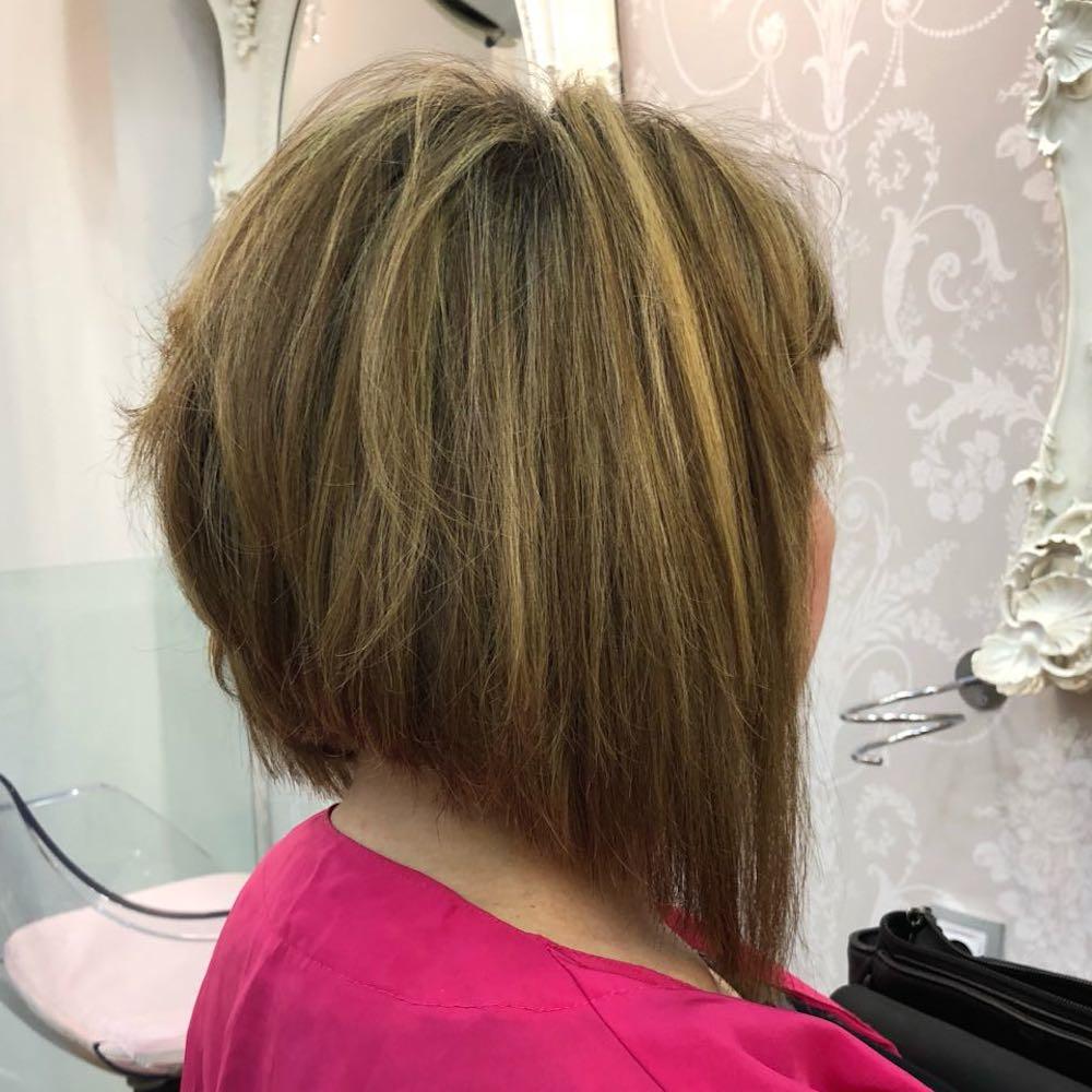 extensiones para pelo corto bob asimetrico zaragoza