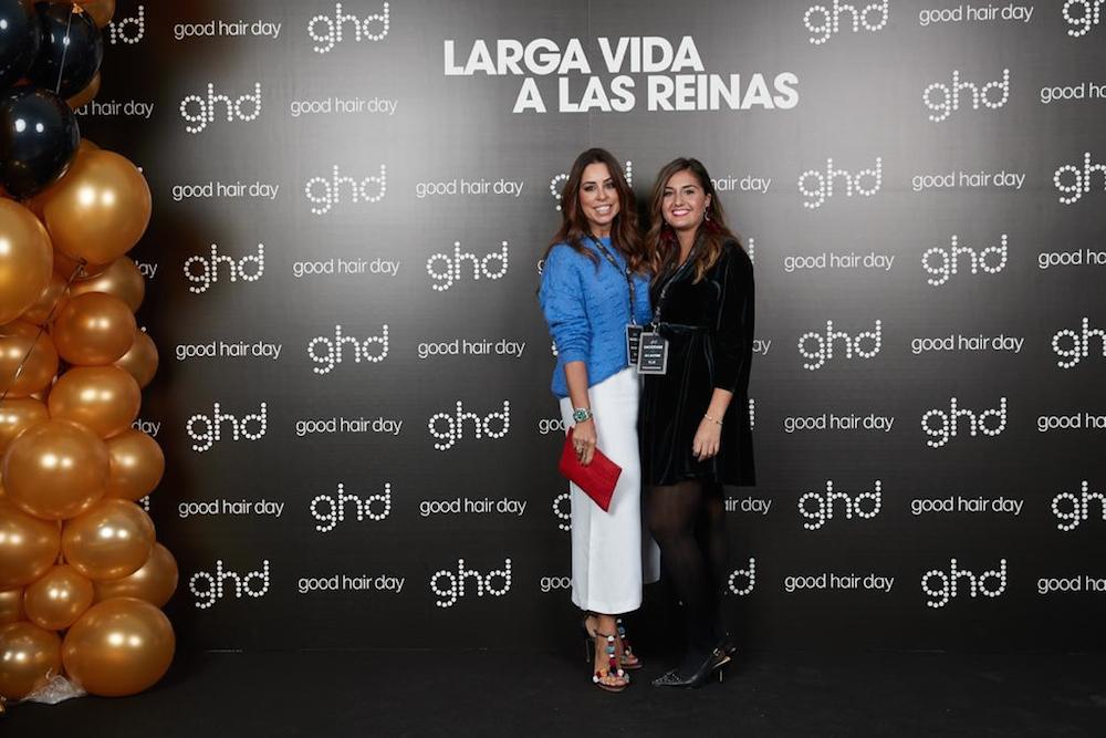 ghd eva pellejero Aitana Ocaña, Lara Álvarez y Maria Pombo