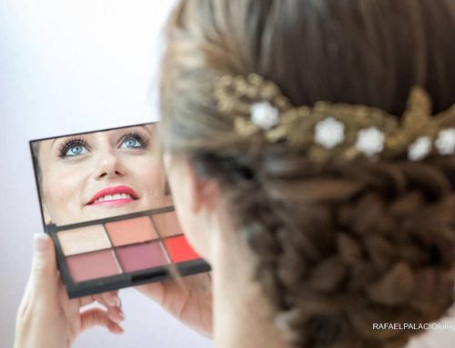 Maquillaje para los ojos azules de Judit
