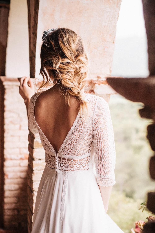 boda en castell de riudabella - editorial novias eva pellejero