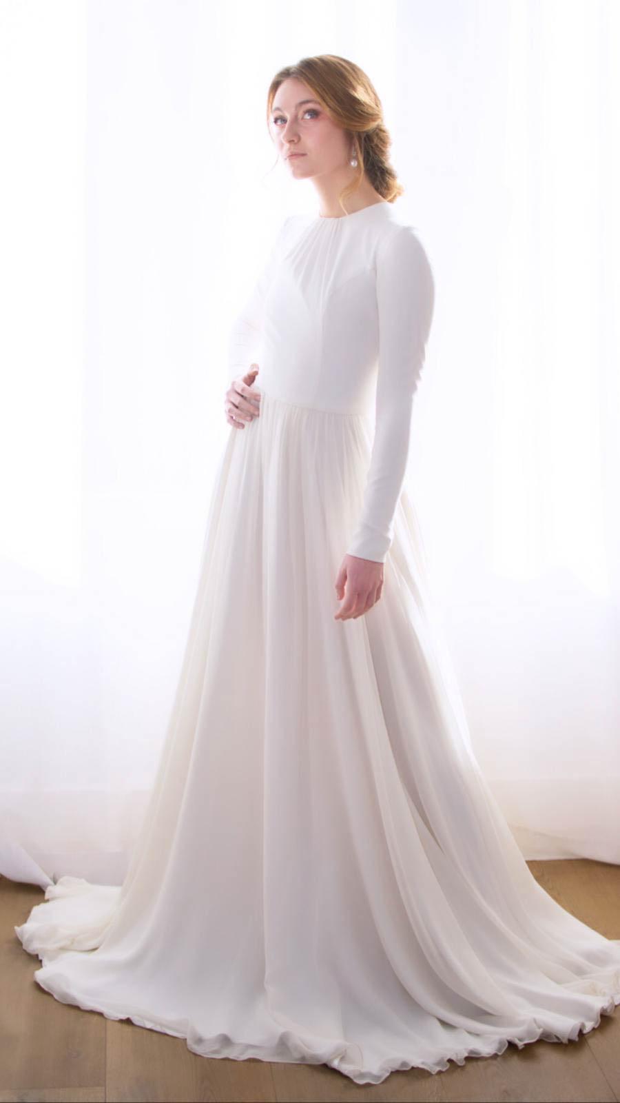 peinados de novia 2019 eva pellejero