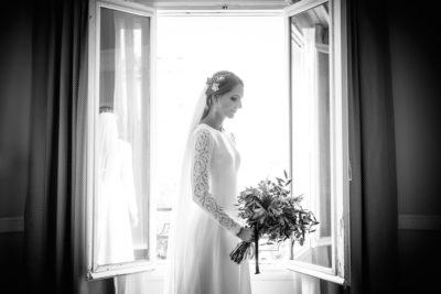 novia con coleta desmontable eva pellejero