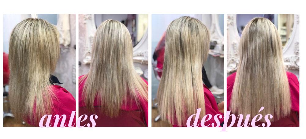tipos de extensiones de cabello eva pellejero