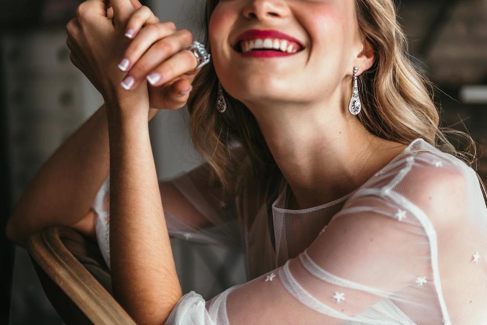 inspiracion para novias vestido estrellas eva pellejero