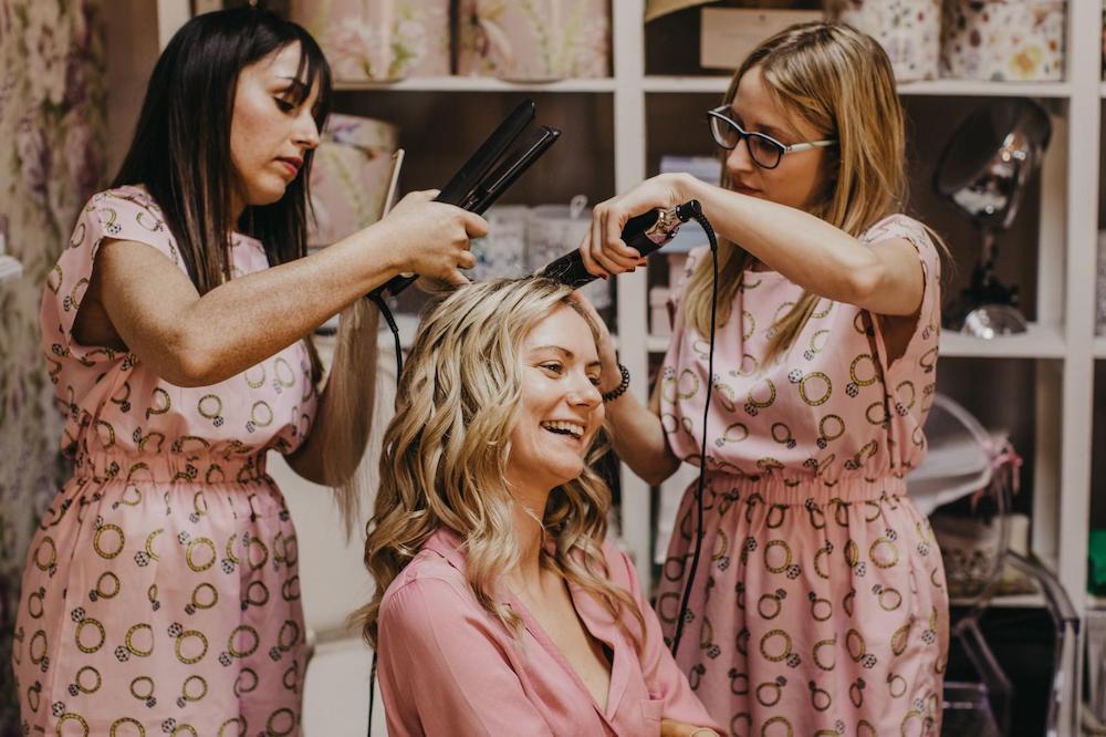 maquillaje y peluqueria de novia y damas de honor 17