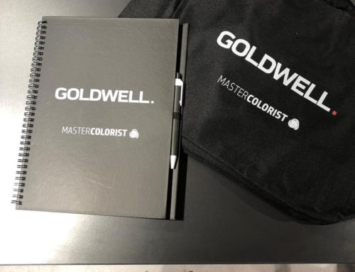Eva Pellejero Color Artist con el Master Colorist de Goldwell