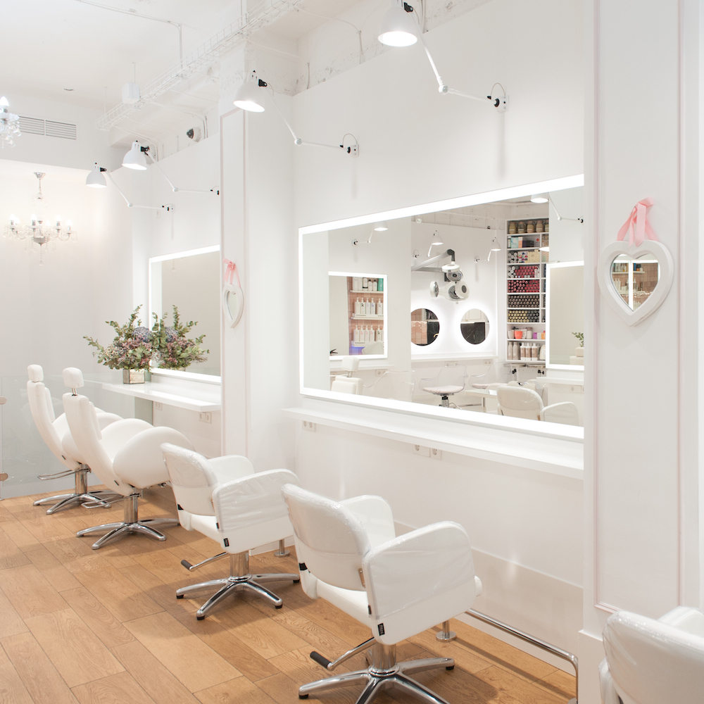 El salon de peluqueria eva pellejero reformado antes y despues