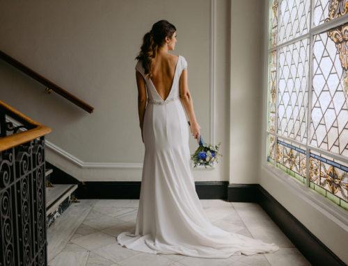 Rocío y su coleta de novia con trenza