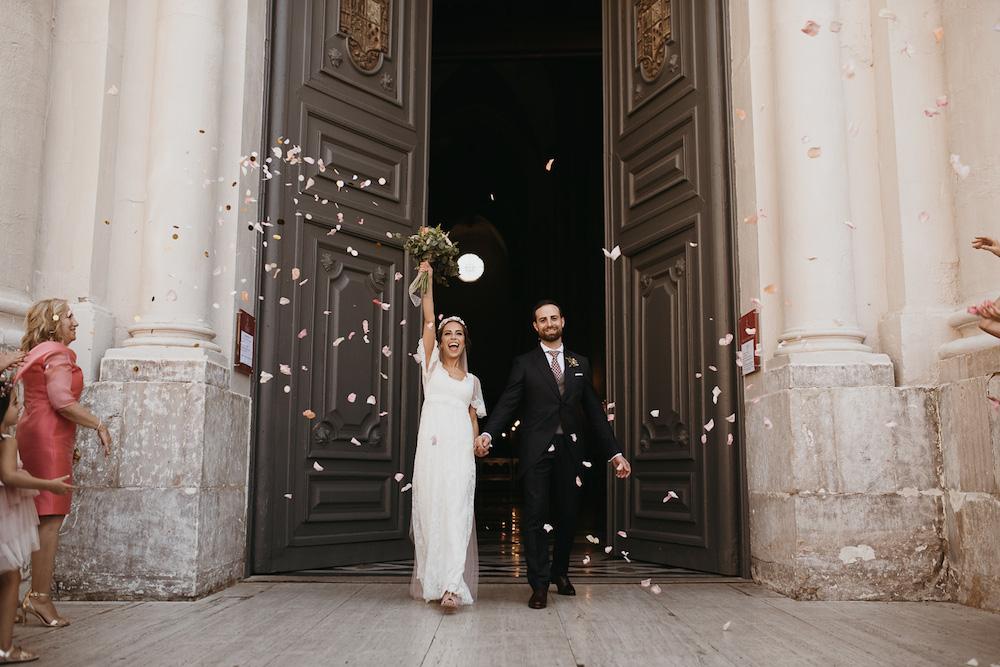 peinado de novia romantico coleta velo rosa eva pellejero