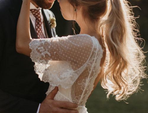 Peinado de novia romantico para Sara