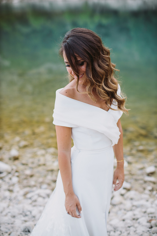 novia cañera eva pellejero liguerre de cinca