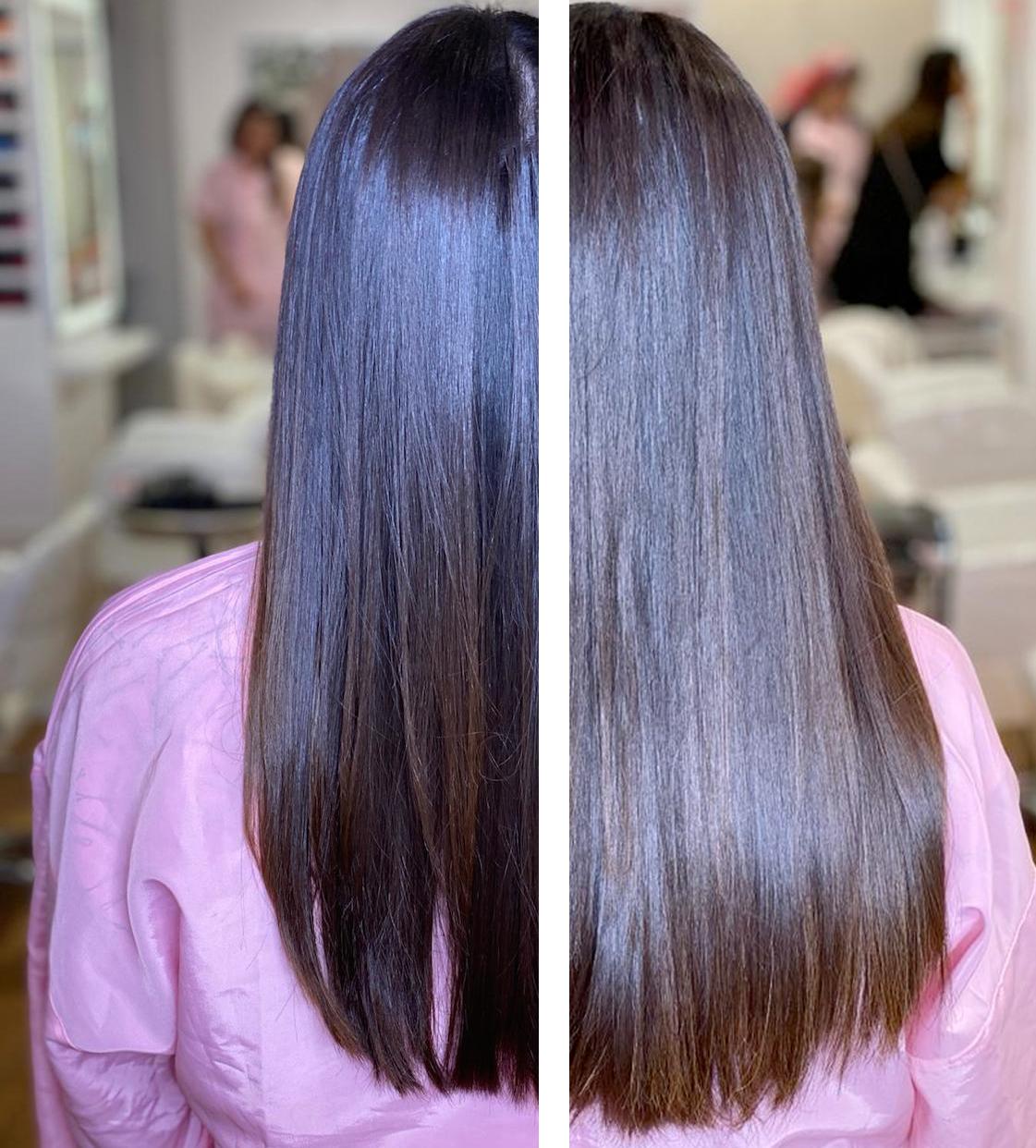 caso real de extensiones bellami hair