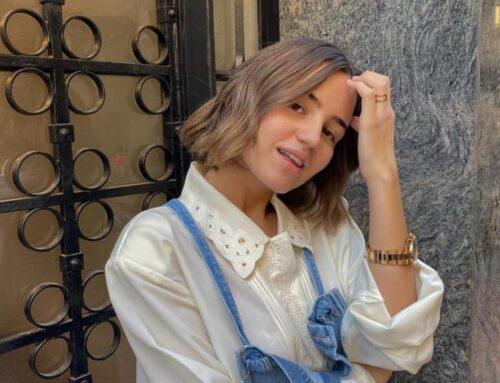 Cambio de look de Teresa Sanz en Eva Pellejero