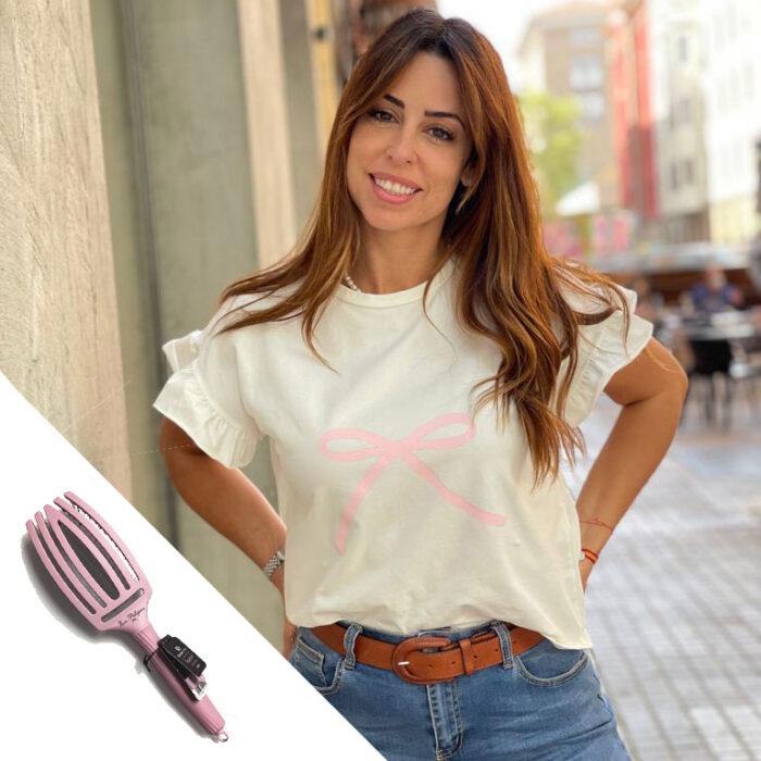 PACK #PELLECAMISETA + CEPILLO OLIVIA GARDEN EVA PELLEJERO