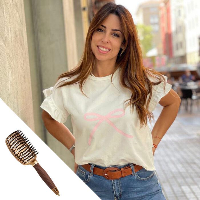 PACK #PELLECAMISETA + CEPILLO OLIVIA GARDEN
