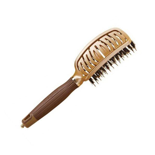 Cepillo Olivia Garden Fingerbrush Dorado