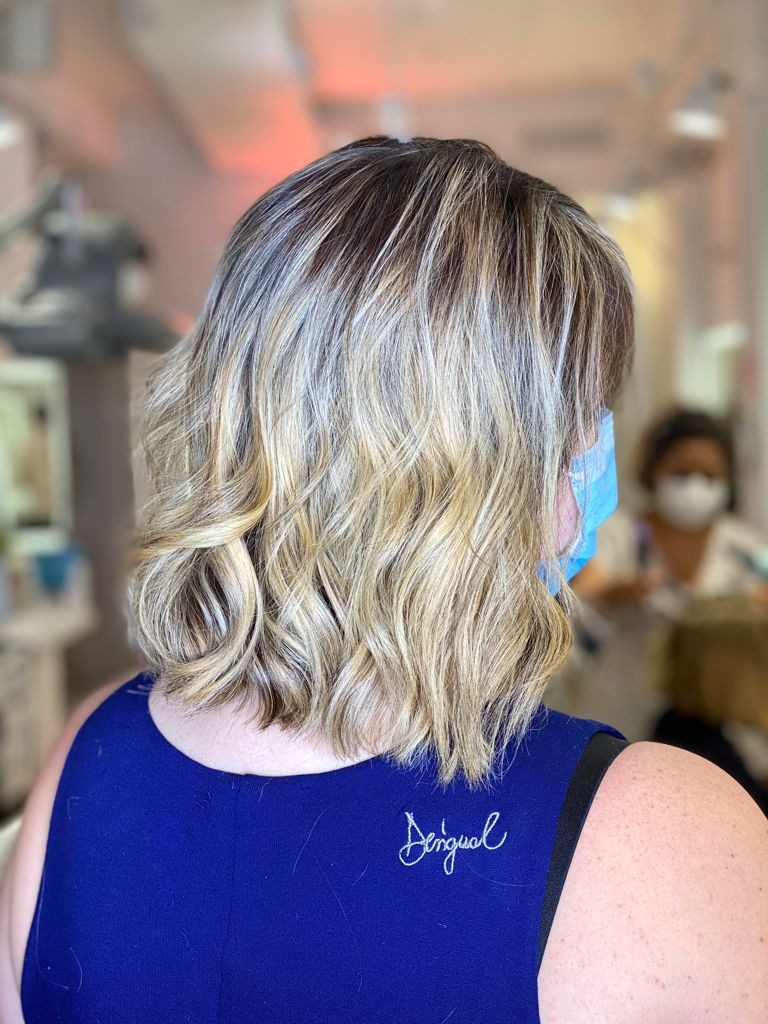 eliminar tonos naranjas cabello teñido zaragoza eva pellejero 1