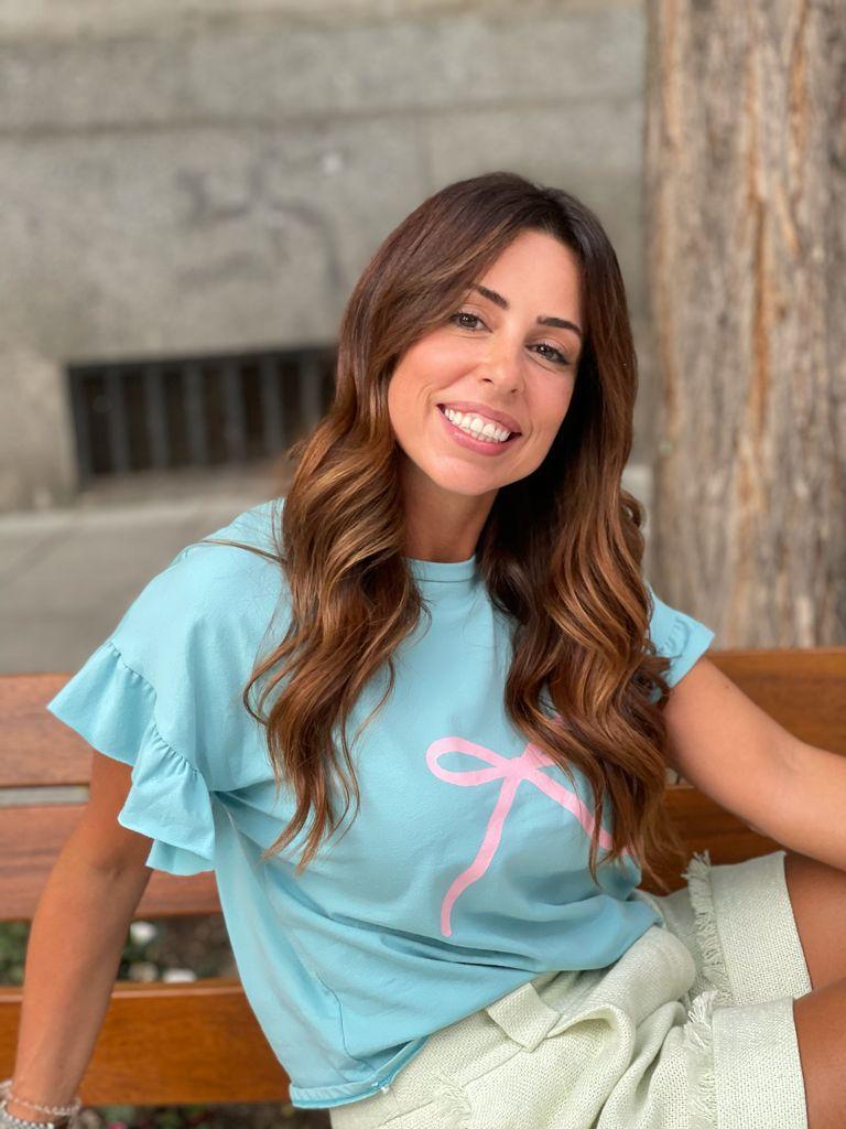 #PELLECAMISETAVERDE La #PELLECAMISETA - Camiseta de Eva Pellejero color Verde