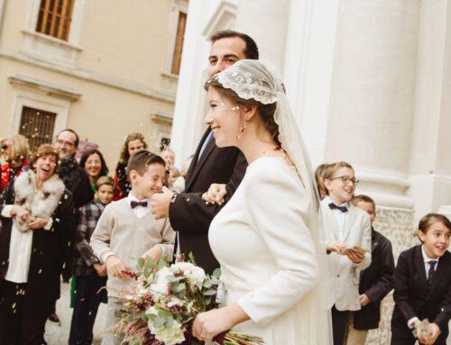 Cómo llevar la mantilla el día de tu boda 💖