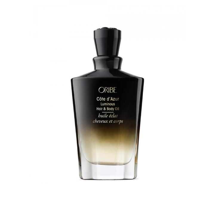 cote d'azur luminous hair body oil