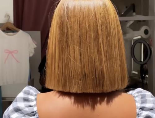 Retoque de alisado GOA en Eva Pellejero | Mantén tu pelo 100% liso y cuidado